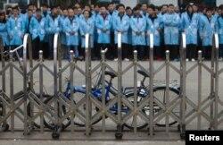 Tình trạng đình công gia tăng phát xuất từ sự chậm lại của tốc độ tăng trưởng kinh tế Trung Quốc.