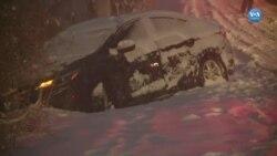 Amerika'da Kar Yağışı Hayatı Olumsuz Etkiliyor