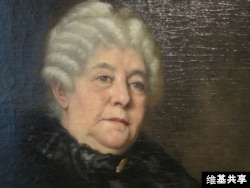 Elizabeth Cady Stanton's image at the National Portrait Gallery