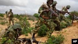 Sojojin Kungiyar Kasashen Afirka dake aikin kiyaye zaman lafiya a Somalia