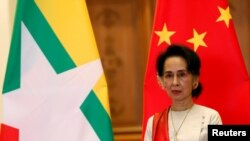 Aung San Suu Kyi yakombowe