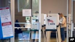 Голосование на праймериз во Флориде. 17 марта 2020.
