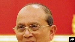 테인 세인 버마 대통령. (자료사진)