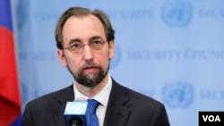 Kepala Komisi HAM PBB Zeid Ra'ad al-Hussein (foto: dok).