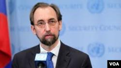 Komisaris HAM PBB, Zeid Ra'ad al-Hussein (foto: dok).