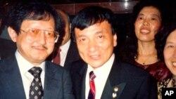 1992年7月采访时任中国国家主席杨尚昆之子杨绍明