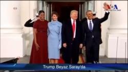 Trump Beyaz Saray'da