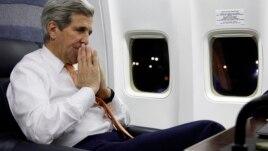 Kerry, turne në Evropë, Lindjen e Mesme, Azi