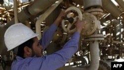 Công nhân ngành sản xuất dầu ở Libya