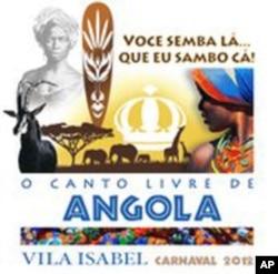 """""""Semba de lá que eu sambo de cá"""" - Angola é estrela do Carnaval do Rio"""