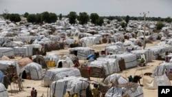 Ikambi y'abateshejwe izabo i Maiduguri, muri Nijeriya