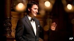 PM Kanada Justin Trudeau (foto: ilustrasi). Pemerintah Kanada meminta maaf dan memberi ganti rugi tiga warganya yang disiksa di Suriah.