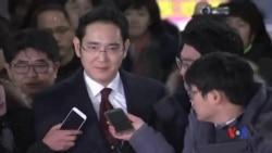 2017-01-16 美國之音視頻新聞: 南韓當局申請逮捕三星電子署理會長李在鎔