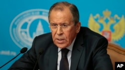 Russia's Foreign Minister Sergey Lavrov is leading a high-powered delegation in Zimbabwe.