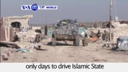 VOA60 World PM - Iraqi Troops Advance on IS Fighters in Battle for Ramadi