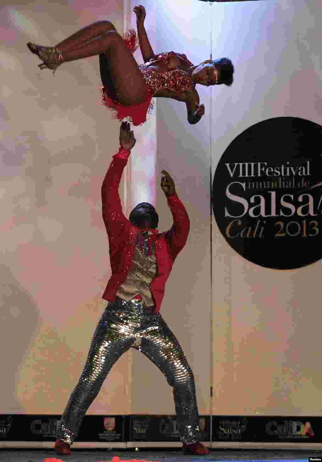 11일 콜롬비아 칼리 시에서 제 8회 세계살사축제가 열렸다.