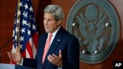 Secretary of State John Kerry in Washington, July 12, 2016.