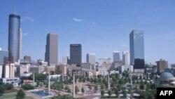 """""""Zona me humbje zero"""" në qendër të Atlantës"""