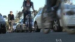 Bike Trains Beat Los Angeles Traffic