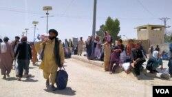 پاک افغان چمن سرحد