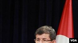 Menteri Luar Negeri Turki, Ahmet Davutoglu (Foto: dok).