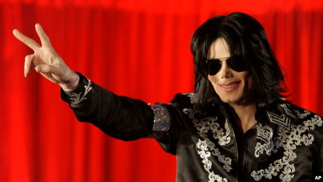 FILE-  Michael Jackson announces that he is set to play ten live concerts at the London O2 Arena.
