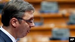 Predsednik Vlade Srbije Aleksandar Vučić