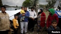 Сирійські біженці у Греції