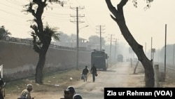 لاہور کا کوٹ لکھپت جیل جہاں نواز شریف کو رکھا گیا ہے۔ فائل فوٹو