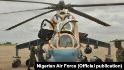 jirgin yaki mai saukar angulu kirar Mi-35P