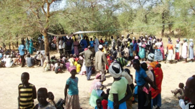 Refugee camp in the Village of Doro in Maban County in South Sudan's Upper Nile State.