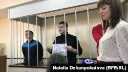 Українські моряки в суді, Росія, 17 квітня 2019 року