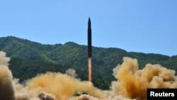 تست موشک قارهپیما توسط کره شمالی