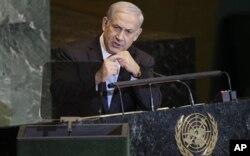 نتنیاهو صدر اعظم اسراییل که خواهان مذاکرات مستقیم فلسطین با کشور گردید
