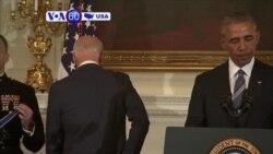 Manchetes Americanas 13 Janeiro: O momento em que Obama fez Biden chorar ao vivo e a cores