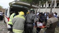 در انفجار بمب در ساختمان سازمان ملل متحد در پایتخت نیجریه ۱۸ تن کشته شدند