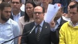 """Venezuela: oposición denuncia presunto """"golpe de Estado"""""""
