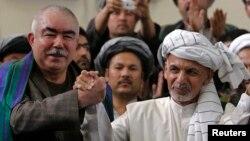 General Abdul Rashid Do'stumning Afg'oniston milliy islomiy harakati prezident saylovida Ashraf G'ani Ahmadzoy nomzodini qo'llashini bildirgan.