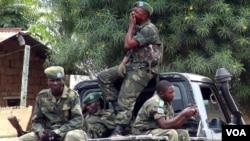 Des miliciens du M23 en RDC. Dix-neuf membres du mouvement vont être traduits en justice en Afrique du Sud
