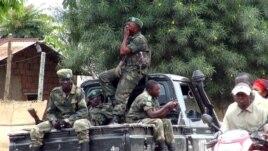 Phiến quân M23 tại thị trấn Bunagana ở CHDC Congo.