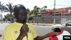 Agente de educação cívica eleitoral em Nampula
