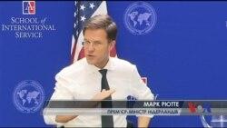 Прем'єр Голландії: Не хочу України у ЄС, але рефередум взагалі не про це. Відео