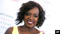 FILE - Viola Davis in Los Angeles.