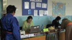 蒙古人選舉新一屆議會議員