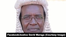 David Maraga, perezida w'urukiko rw'ikirengwa muri Kenya