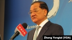 中国国民党荣誉主席连战(美国之音张永泰拍摄)
