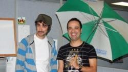 Parazit creators Saman Arbabi & Kambiz Hosseini