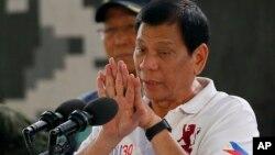 သမၼတ Rodrigo Duterte