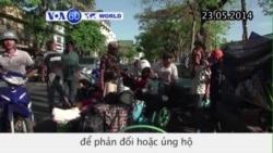 Biểu tình phản đối hoặc ủng hộ đảo chính ở Thái Lan (VOA60)