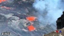 Des centaines d'habitants évacués après une éruption à Hawaï (vidéo)